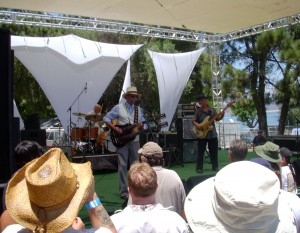 Live music at Irvine Lake